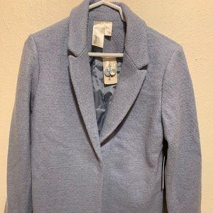 NWT Forever 21 Long Blue Coat